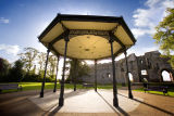 The band stand Newark castle