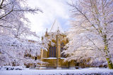 The Chapter House in snow