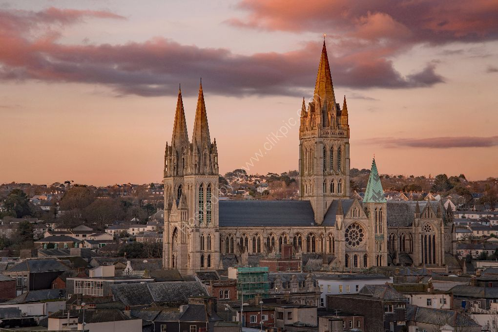 Truro Cathedral from Infirmary Hill