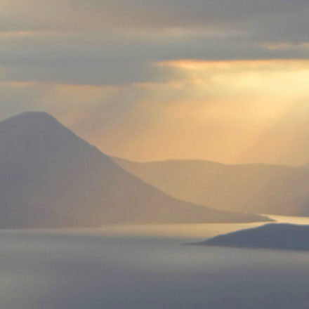 The Cuillins at Dusk