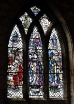 The Builder Bishops' Window, The Cathedral Church of St Machar