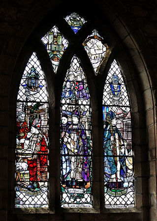 The Builder Bishops Window