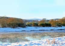 Ice Flows on the River Dee