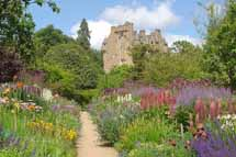 June Border, Crathes Castle