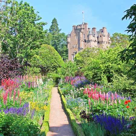 June Border, Crathes Castle Gardens