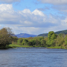 River Dee and Clachnaben, Banchory