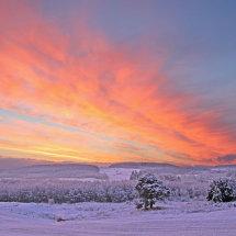 Sunrise over Durris
