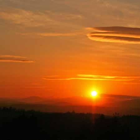 Sunset over Durris
