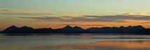 Sunset over the Cuillins from Applecross