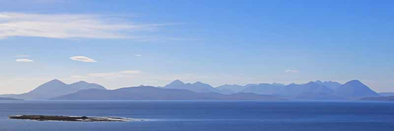 The Cuillins from Applecross