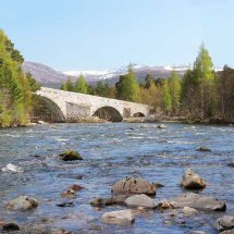 The Old Brig o' Dee, Invercauld