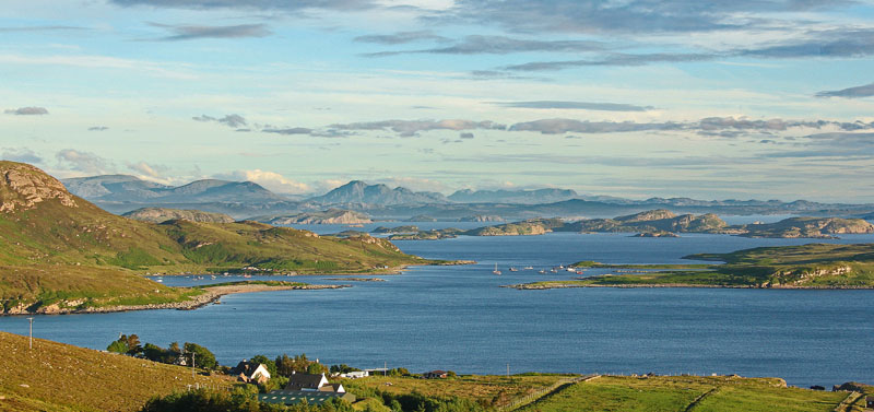 The Summer Isles from Atlandhu