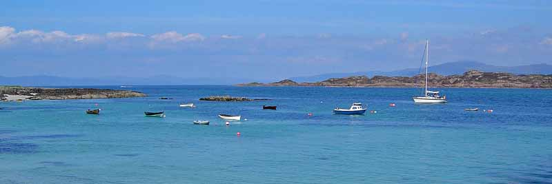 View from Iona Harbour