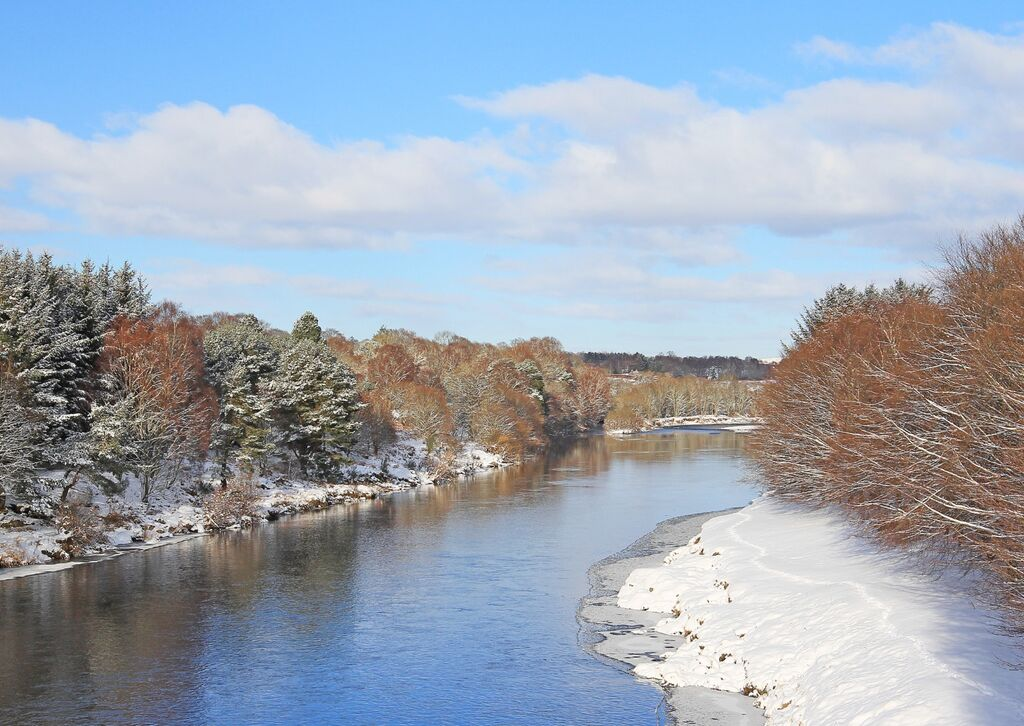 View from Park Bridge, Drumoak