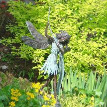 Willow Fairy, Drum Castle Gardens