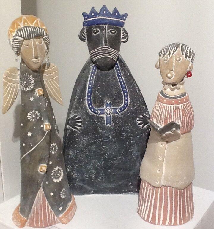 Christmas themed indoor sculptures
