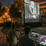 """General view, """"Cairo Station"""" screening in Tavros © Rosa Luxemburg"""
