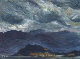 Storm Clouds over Ballagio, Como