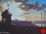 Blustery Summer's Evening, Whitby (SOLD)