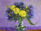 Sherbet Lemons & Violet Hues