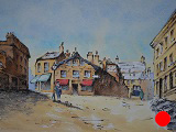 Waiting By The Lamppost (SOLD)