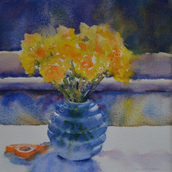 My Little Blue Vase