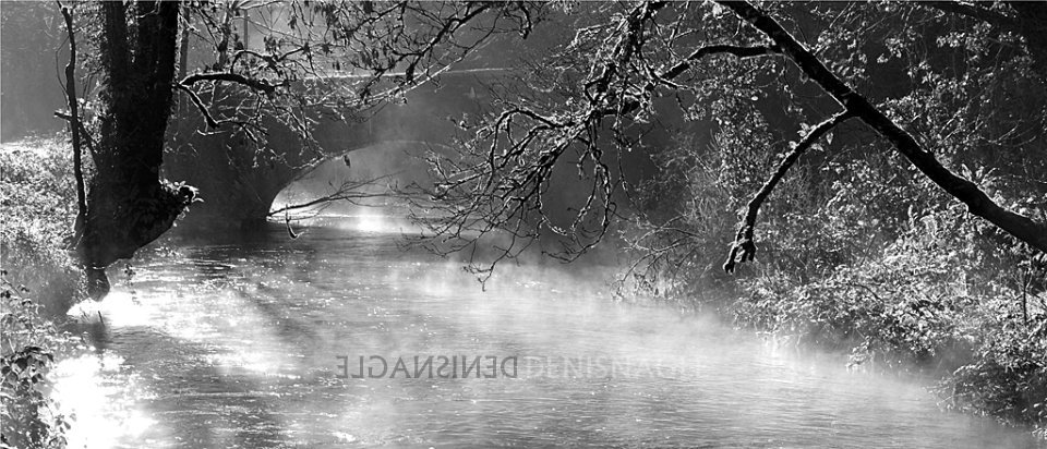 Owenabue River, Ballea Bridge, Carrigaline, Co Cork, Jan '14
