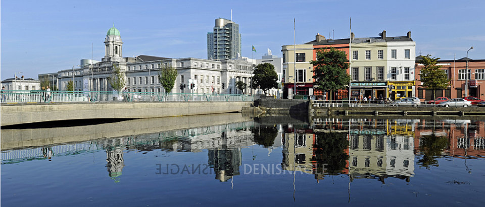 City Hall & Union Quay, Cork, Sept '14