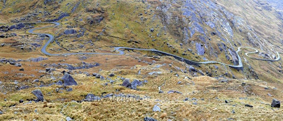Healy Pass , Beara Peninsula, Co. Cork , March ' 14 .