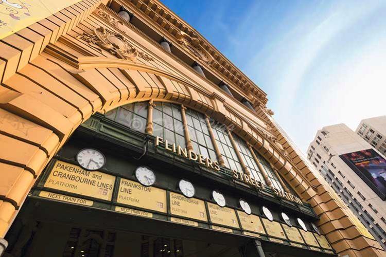 214-Flinders St Station