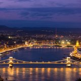 223-Budapest at night