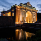 225-Menin Gate at dusk
