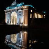 227-Menin Gate at night