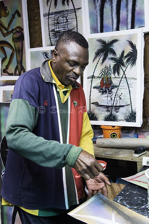 502-Langa Township Artist