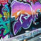 503-Street Artist, Hosier Lane