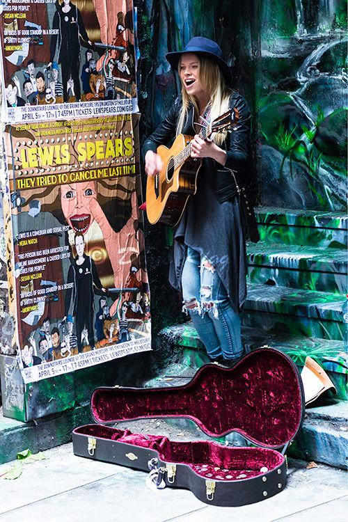 509-Street Musician