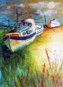 Houseboats at Dawn