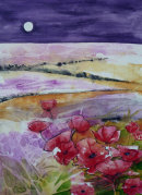 Moonlit Poppies...£195