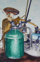 Oil Cans Still Life - SOLD