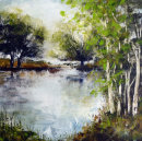 Birches by the River...£345