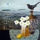 Blackbird & Hellebores...£585