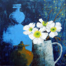 White Hellebores...SOLD