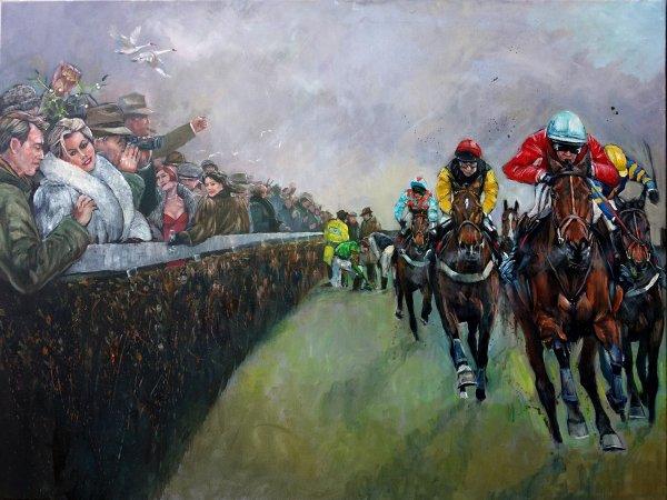 Fellow Spirits; The King George VI Steeplechase Kempton 1991