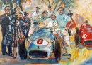You Lose Some...Monaco Grand Prix 1955 Ltd Ed on Canvas