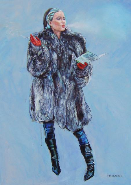 """Venus in furs Defiant""Original Oil on Canvas 36""x24""***SOLD***"