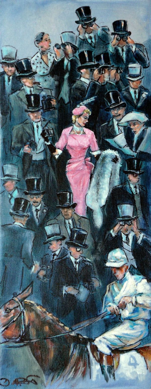 The Pink Lady, Royal Ascot c 1954