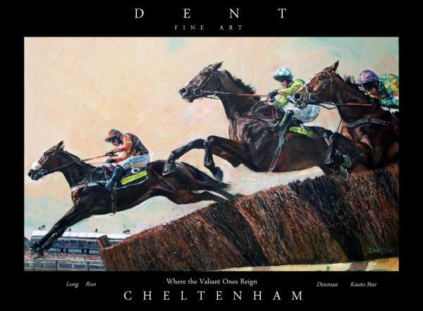 Cheltenham Gold Cup Poster