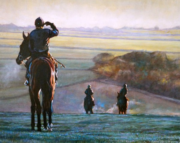 Top O The Morning Lambourn  by A. J. Dent