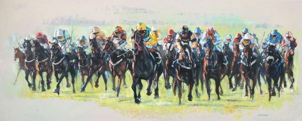 Cavalry Charge : The Cesarewitch Newmarket