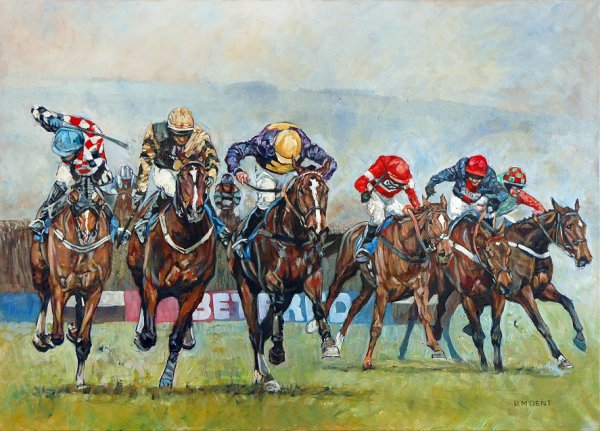 The 2014 Cheltenham Gold Cup: From the Last to The Line